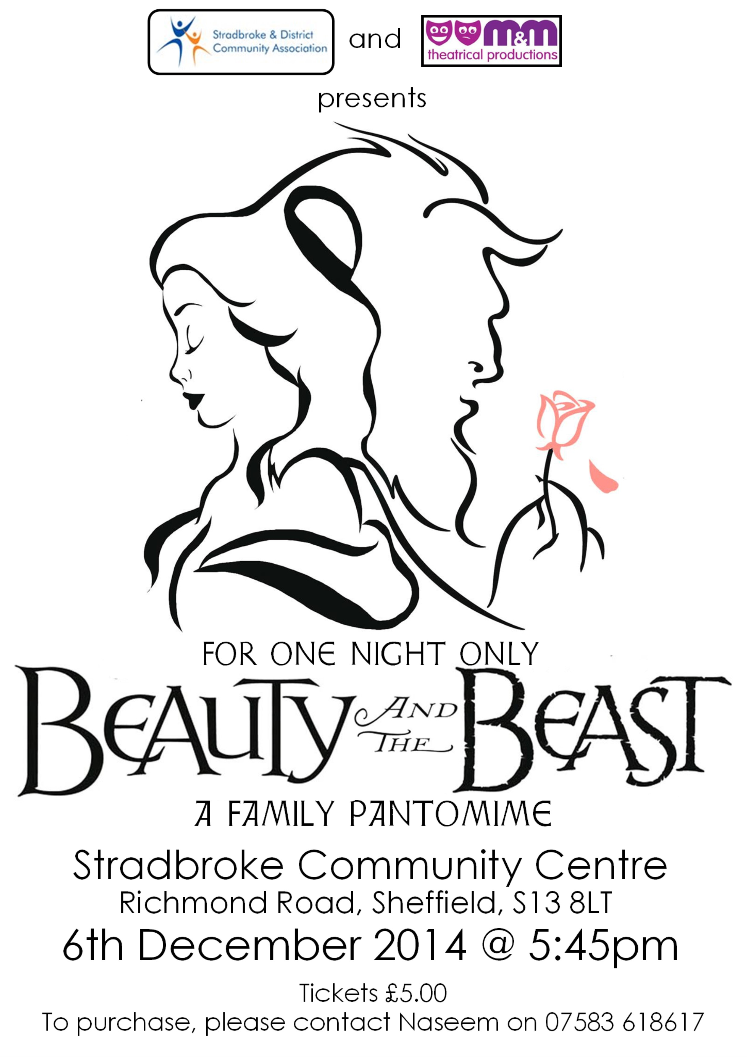 Beauty and the Beast, 6th December 2014, 5:45pm